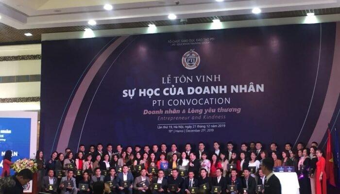 Lễ tôn vinh sự học cấp chứng nhận 2019