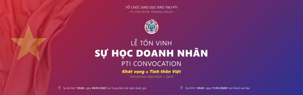 Lễ tôn vinh sự học tại PTI 2020